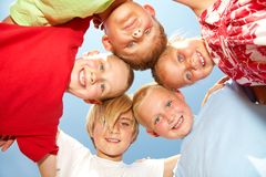 Cute kids Royalty Free Stock Image