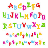 Cute kids alphabet Stock Photo