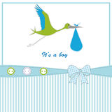 Cute kids card Royalty Free Stock Images