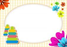 Cute Kids Diploma certificate design templat Stock Photography