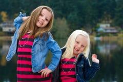 Cute kids having fun Stock Photo