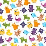 Cute Kids Pattern Stock Photo