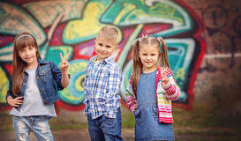 Cute kids Royalty Free Stock Photography