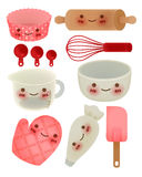 Cute Kitchen Utensil Stock Images