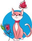 Cute kitten  illustration Royalty Free Stock Photos