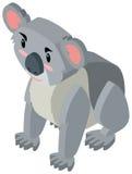 Cute koala bear in 3D design. Illustration Stock Photos