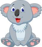 Cute koala cartoon. Illustration of Cute koala cartoon Royalty Free Stock Photo