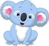 Cute koala cartoon Stock Photography