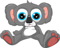 Cute koala cartoon Stock Photos