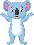 Cute koala cartoon. Illustration of cute koala cartoon Royalty Free Stock Photos