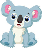 Cute koala cartoon Royalty Free Stock Photos