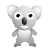 Cute koala cartoon posing Stock Photography