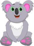 Cute koala cartoon vector illustration