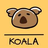 Cute Koala hand-drawn style, vector illustration. Cute Koala hand-drawn style,drawing,hand drawn vector illustration Stock Photos