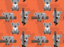 Free Cute Koala Tree Cartoon Seamless Background Wallpaper Royalty Free Stock Photos - 160002228