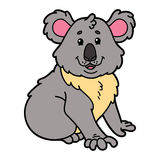 Cute koala. Stock Photography