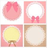 Cute Lace Pattern Royalty Free Stock Photo
