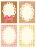 Cute Lace Pattern. Vector File EPS10 Royalty Free Stock Photo