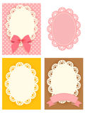 Cute Lace Pattern. Vector File EPS10 Stock Image