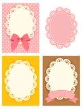 Cute Lace Pattern Stock Image