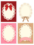 Cute Lace Pattern Stock Images