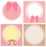 Cute Lace Pattern Royalty Free Stock Photo