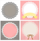 Cute Lace Pattern. Vector File EPS10 Royalty Free Stock Photos