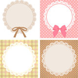 Cute Lace Pattern Stock Image