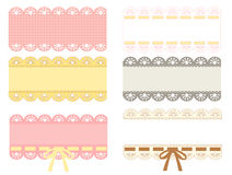 Cute Lace Pattern Stock Photography