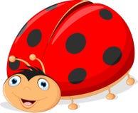 Cute ladybug cartoon Royalty Free Stock Photography