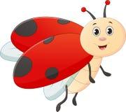 Cute ladybug cartoon Stock Photo