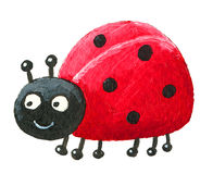 Cute Ladybug looking left Royalty Free Stock Image