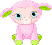 Cute lamb character Stock Photography