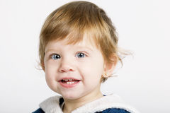 Cute laughing girl portrait Royalty Free Stock Image