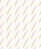 Cute lavender seamless dot pattern. Pretty  French  background. Pastel wallpaper. Stock Photography