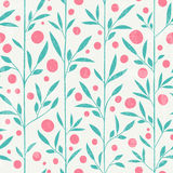 Cute leaf pattern Royalty Free Stock Photography