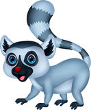 Cute lemur cartoon Stock Photo