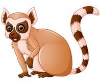 Cute lemur cartoon. Illustration of Cute lemur cartoon stock illustration