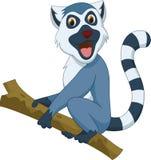 Cute lemur cartoon Stock Photography