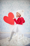 Cute liitle girl Royalty Free Stock Photography