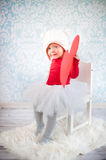 Cute liitle girl Royalty Free Stock Photos