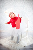 Cute liitle girl Royalty Free Stock Photo