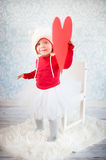 Cute liitle girl Royalty Free Stock Images