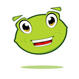Cute lime character Royalty Free Stock Photos