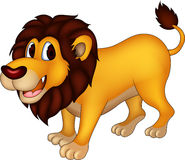 Cute lion cartoon Royalty Free Stock Images
