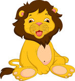 Cute lion cartoon Royalty Free Stock Photography