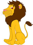 Cute lion cartoon Stock Photo