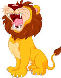 Cute lion cartoon Royalty Free Stock Photos