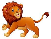 Cute lion cartoon. Illustration of Cute lion cartoon Stock Photo