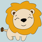 Cute lion. Royalty Free Stock Photo